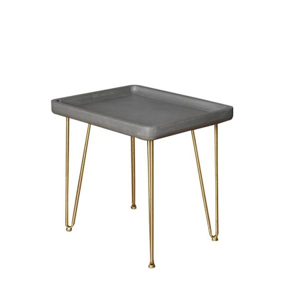 Outstanding Grey Wood End Table With Gold Base Andrewgaddart Wooden Chair Designs For Living Room Andrewgaddartcom