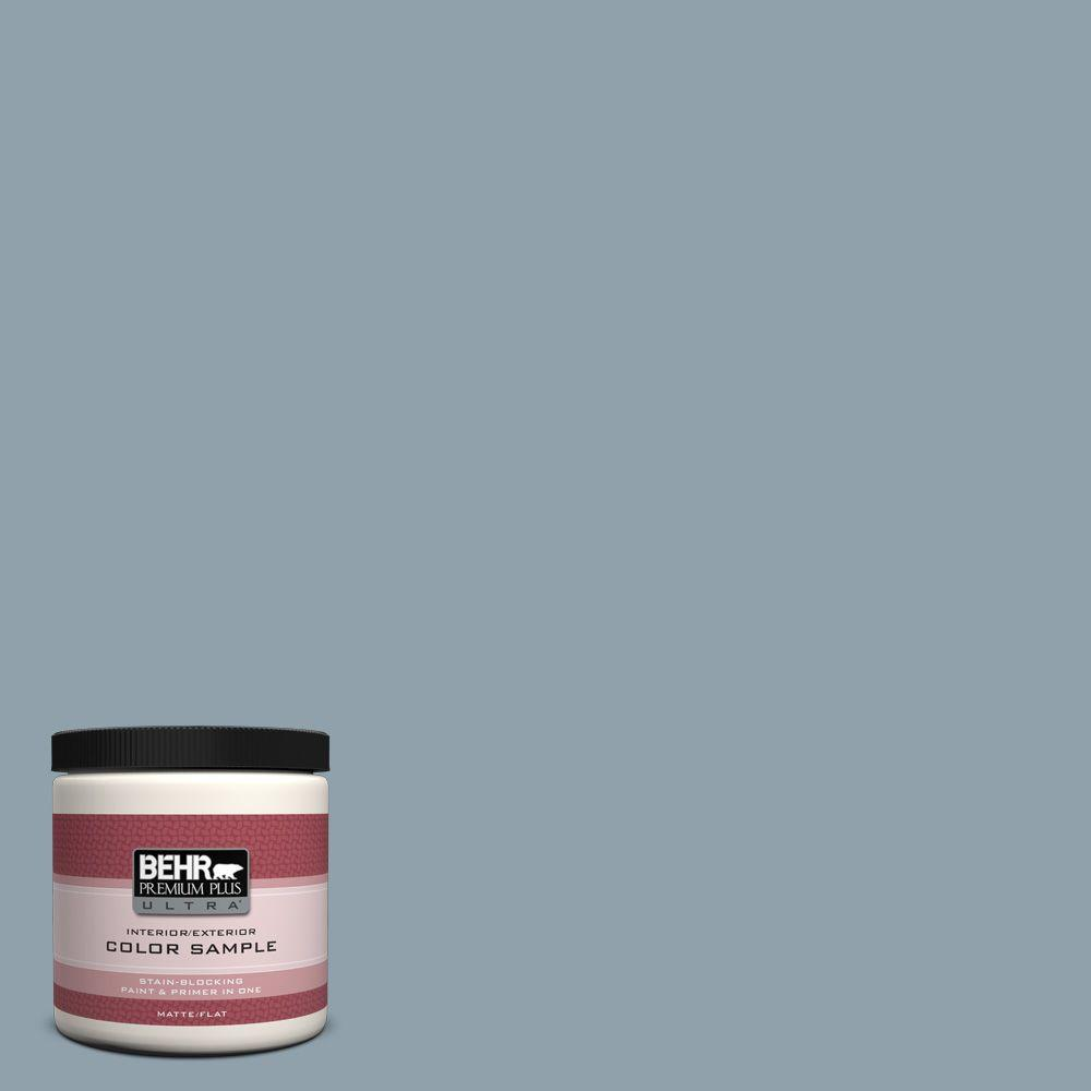 8 oz. #N480-4 French Colony Interior/Exterior Paint Sample