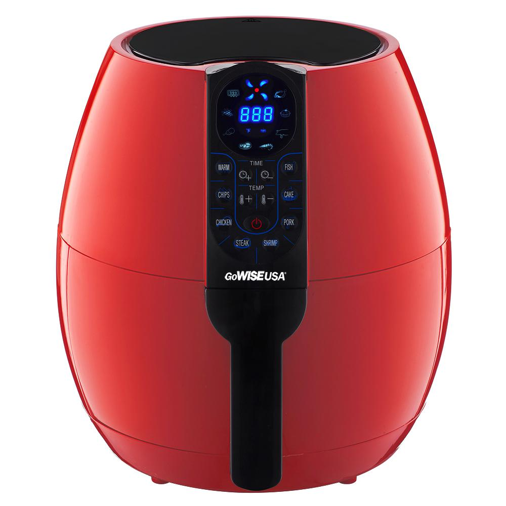 GoWISE USA 3.7 Qt. Air Fryer with 8-Cook Presets