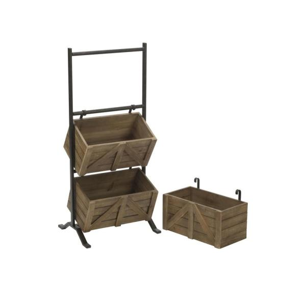 Wooden Crate Stand