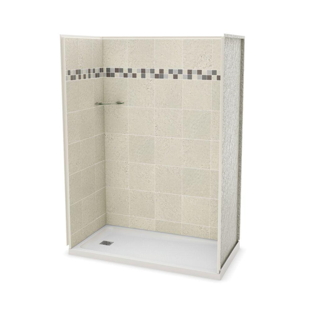 32 inch corner shower stall kits. MAAX Utile Stone 32 in  x 60 83 5 Alcove Shower Stall