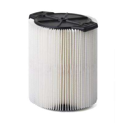 Cartridge Filter for 5.0 Gal. to 20.0 Gal. Craftsman Wet Dry Vacs (6-Pack)
