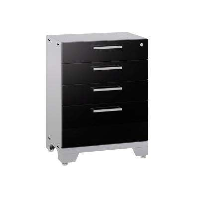 Performance 2.0 33.25 in. H x 24 in. W x 18 in. D Steel Garage Freestanding Tool Cabinet in Black
