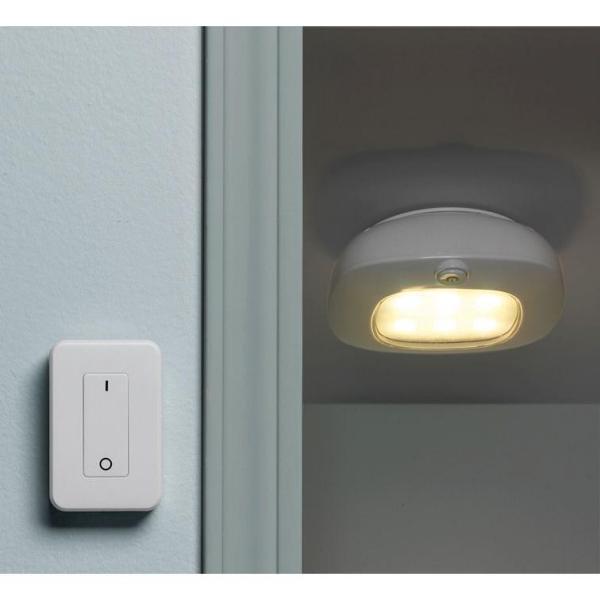 Light It White Wireless Integrated Led Ceiling Light Set 30032 308 The Home Depot