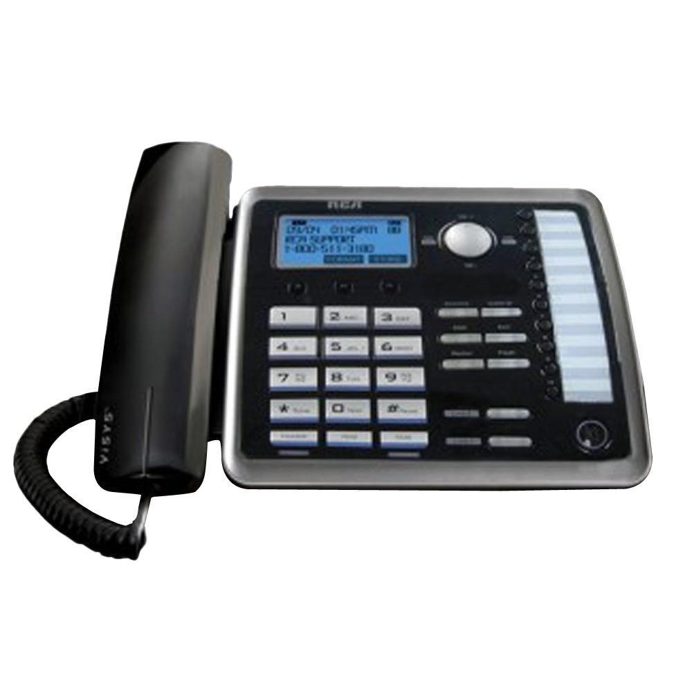 rca 2 line corded speakerphone rca 25214re1 the home depot rh homedepot com RCA 6 0 Phone Manual RCA 6 0 Phone Manual