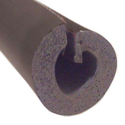 2 in. x 1/2 in. Thick Wall x 6 ft. Self Seal Tubular Poly Foam Pipe Insulation (14-Case)