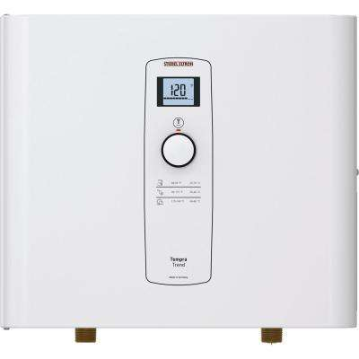 Tempra 24 Trend Self-Modulating 24 kW 4.68 GPM Compact Residential Electric Tankless Water Heater