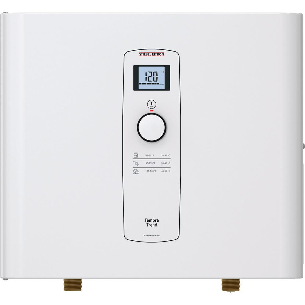 Stiebel Eltron Tempra 29 Trend Self-Modulating 28.8 kW 5.66 GPM Compact Residential Electric Tankless Water Heater