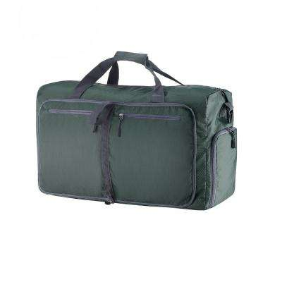 24 in. Green Folding Duffel Bag