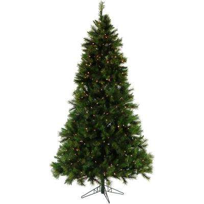 6.5 ft. Pennsylvania Pine Artificial Christmas Tree with Clear Smart String Lighting