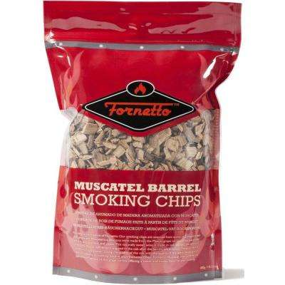 14 oz. Smoking Wood Chips, Muscatel, Bag