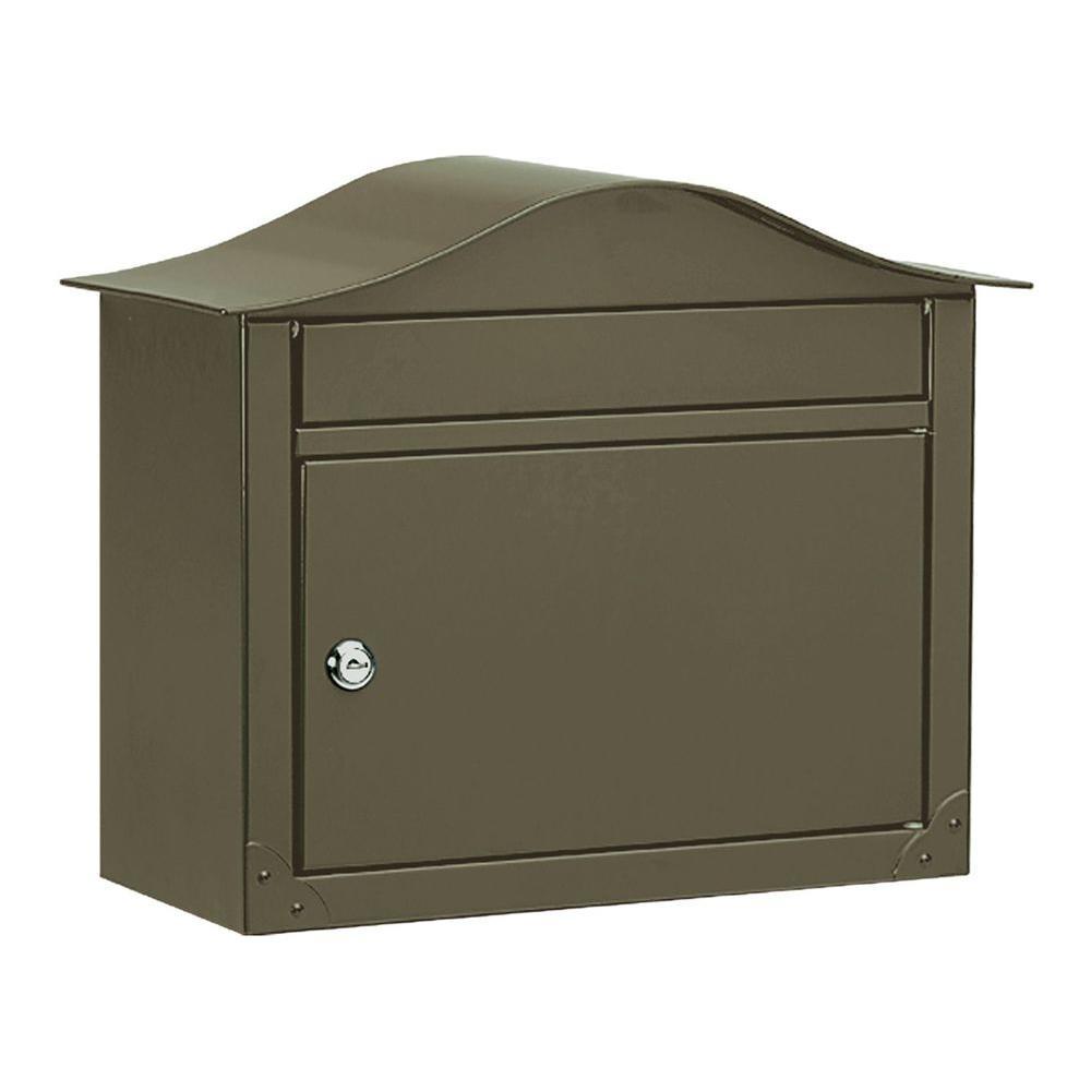 Architectural Mailboxes Lunada Bronze Wall-Mount Mailbox