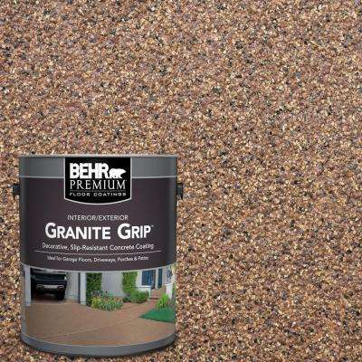 1 gal. #GG-11 Sahara Canyon Decorative Flat Interior/Exterior Concrete Floor Coating