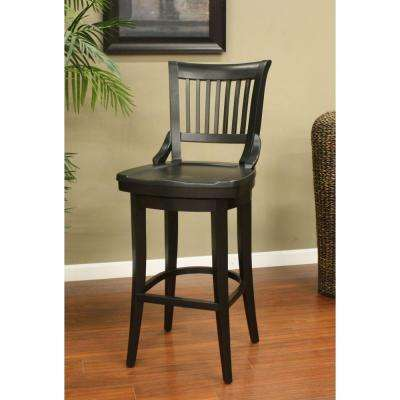 Liberty 26 in. Black Bar Stool