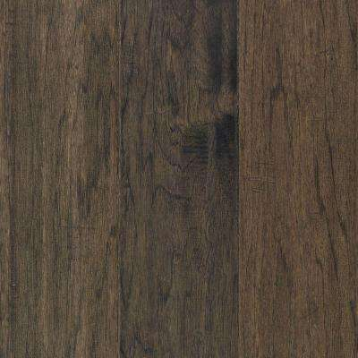Take Home Sample - Steadman Greystone Hickory Engineered Scraped Hardwood Flooring - 5 in. x 7 in.