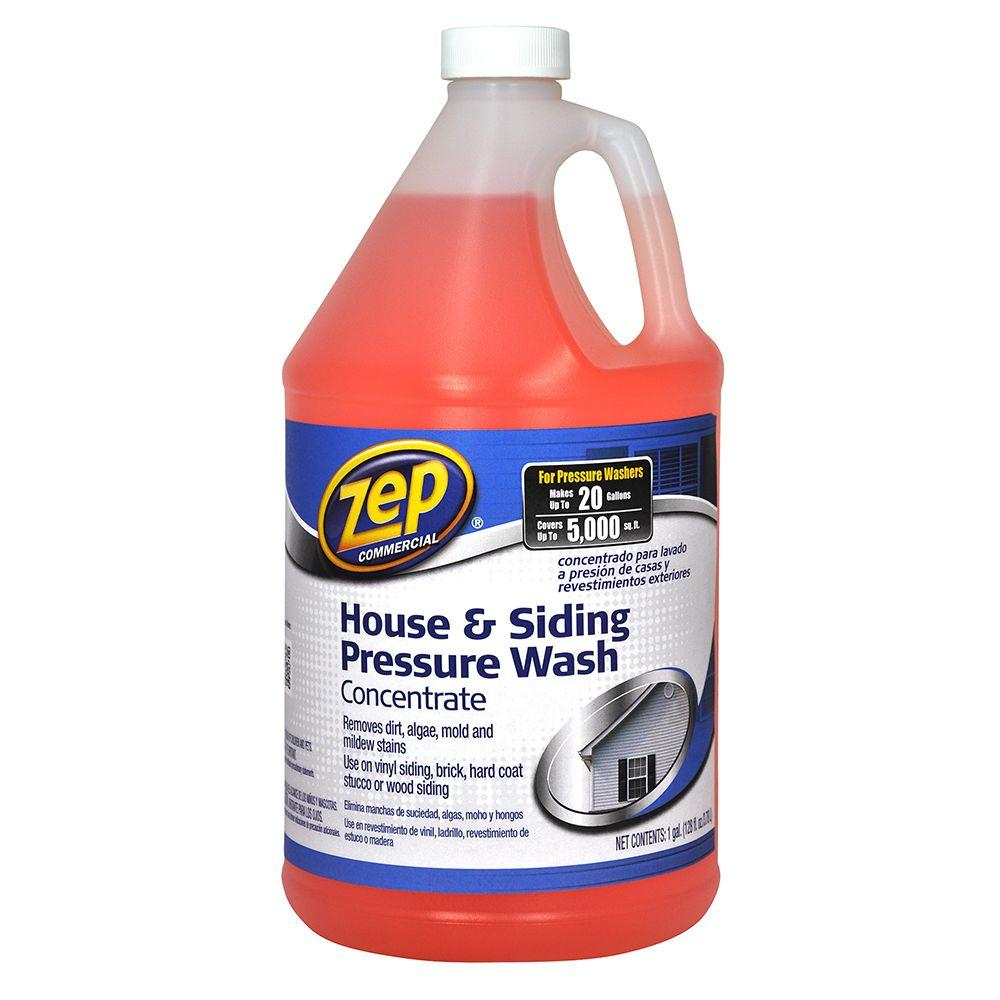 Zep 128 Oz House And Siding Pressure Wash Concentrate Cleaner Zuvws128 The Home Depot