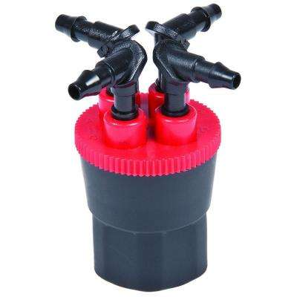 12 GPH 4-Outlet Retrofit Drip Manifold