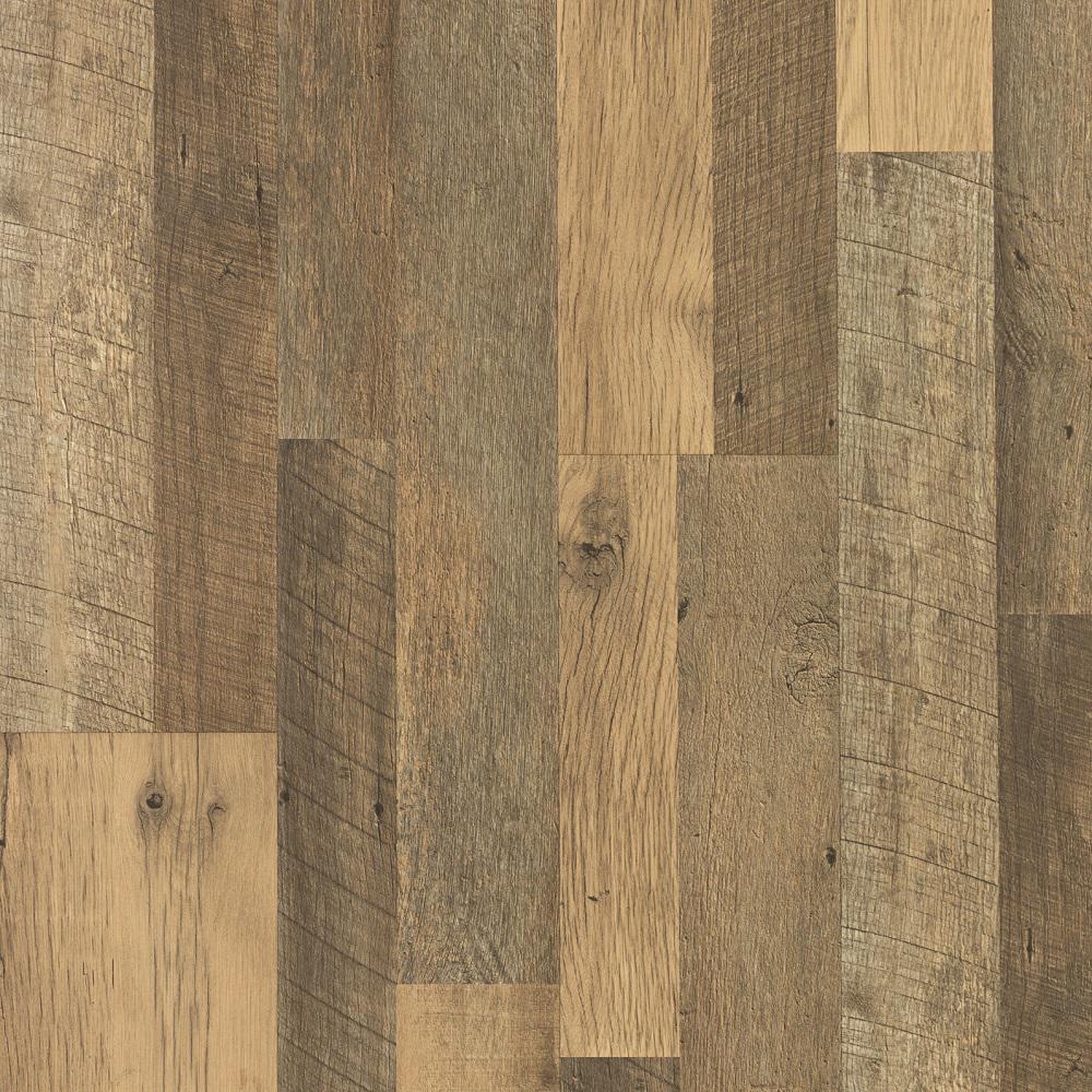 Take Home Sample - Natural Rebel Oak Laminate Flooring - 5 in. x 7 in.