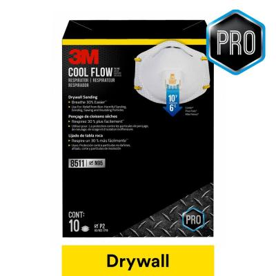 Drywall Particulate Respirator (10-Pack)