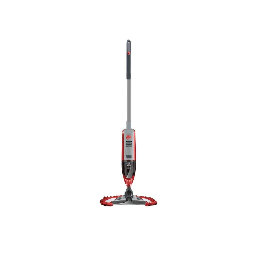 Quick Clean Cordless Vac+Dust Bagless Stick Vacuum Cleaner with Swipes