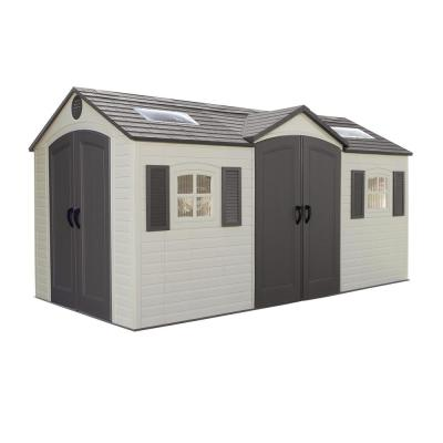 Lifetime 15 Ft X 8 Ft Outdoor Garden Shed 6446 The Home Depot