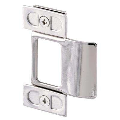 3-Piece Chrome Plated Adjustable Door Strike