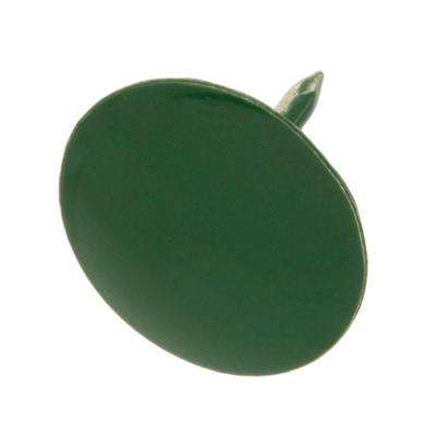 Steel Green Flat-Head Thumb Tack (60-Piece per Pack)