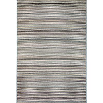 Brighton Blue 2 ft. x 3 ft. 7 in. Contemporary Polypropylene Area Rug