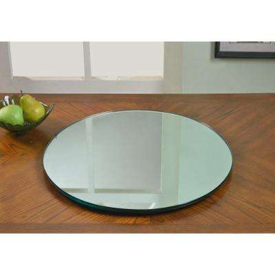 24 in. Lazy Susan Mirror