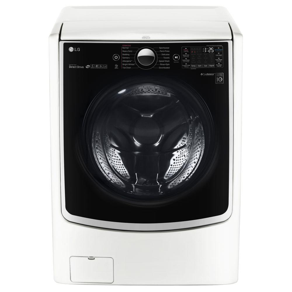 LG 4.5 cu. ft. High-Efficiency Front Load Washer with Tur...