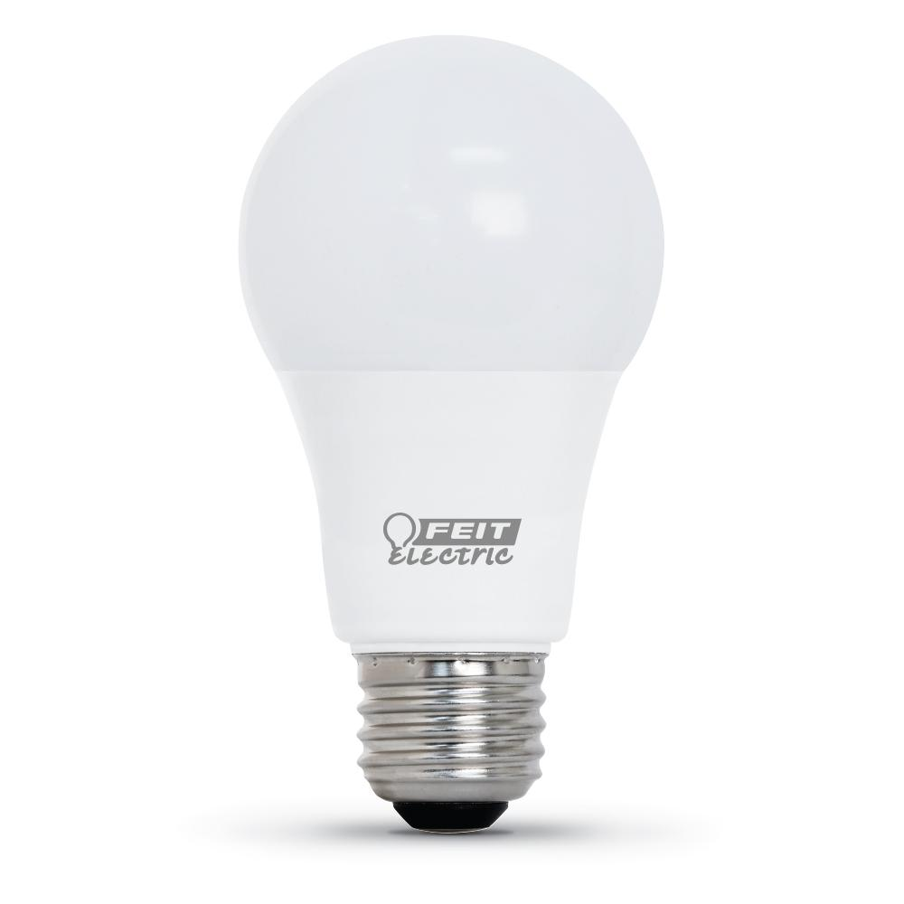 Feit Electric 60-Watt Equivalent A19 Dimmable CEC Title 24 Compliant LED ENERGY STAR 90+ CRI Light Bulb, Bright White