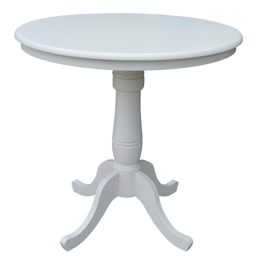 Linen Skirted Pub/Bar Table