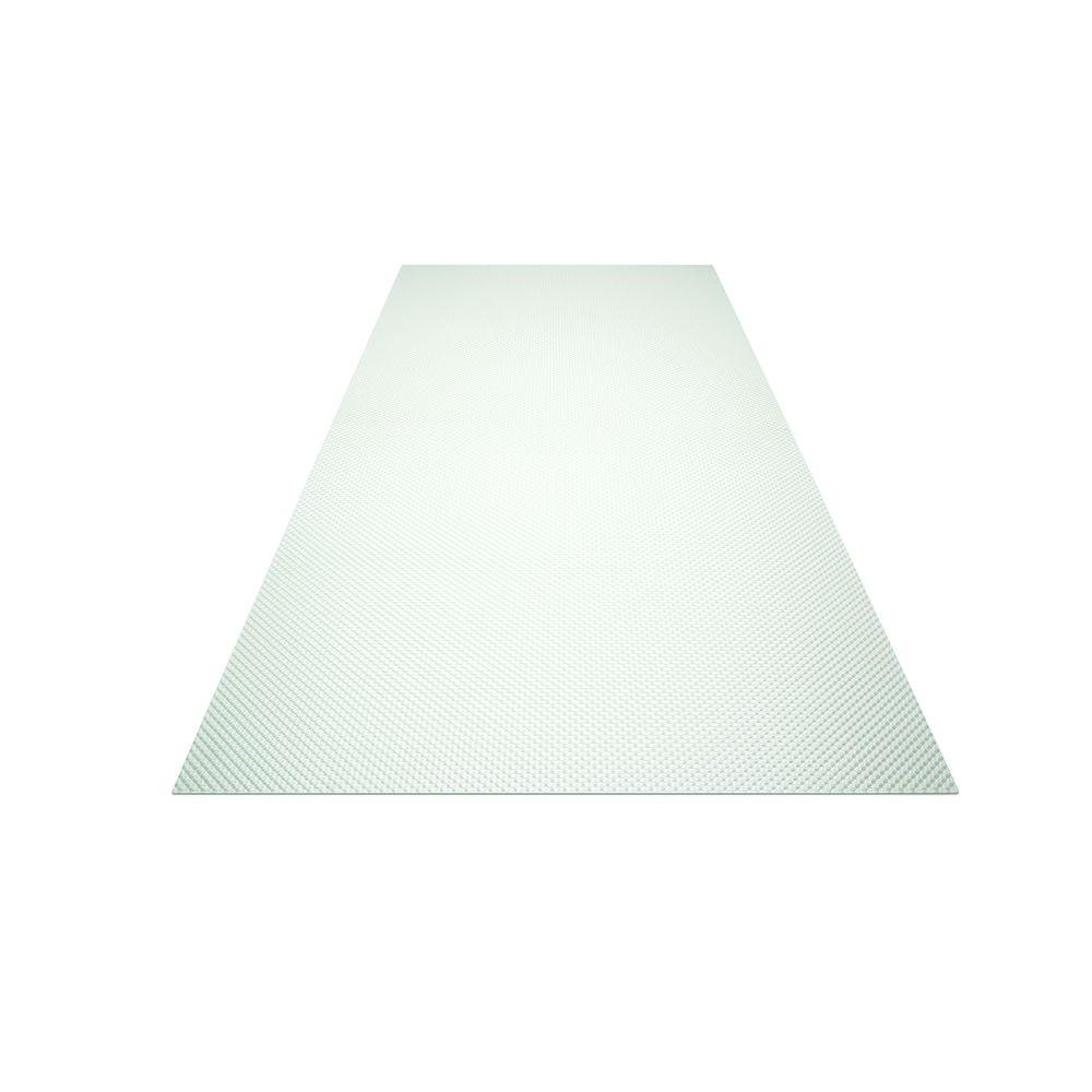 2 ft. x 2 ft. Acrylic Clear Prismatic Lighting Panel (20-Pack)