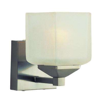 Stewart 1-Light Pewter Incandescent Sconce