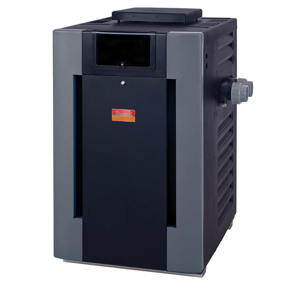 266,000 BTU ASME Cupro-Nickel Natural Gas Pool Heater