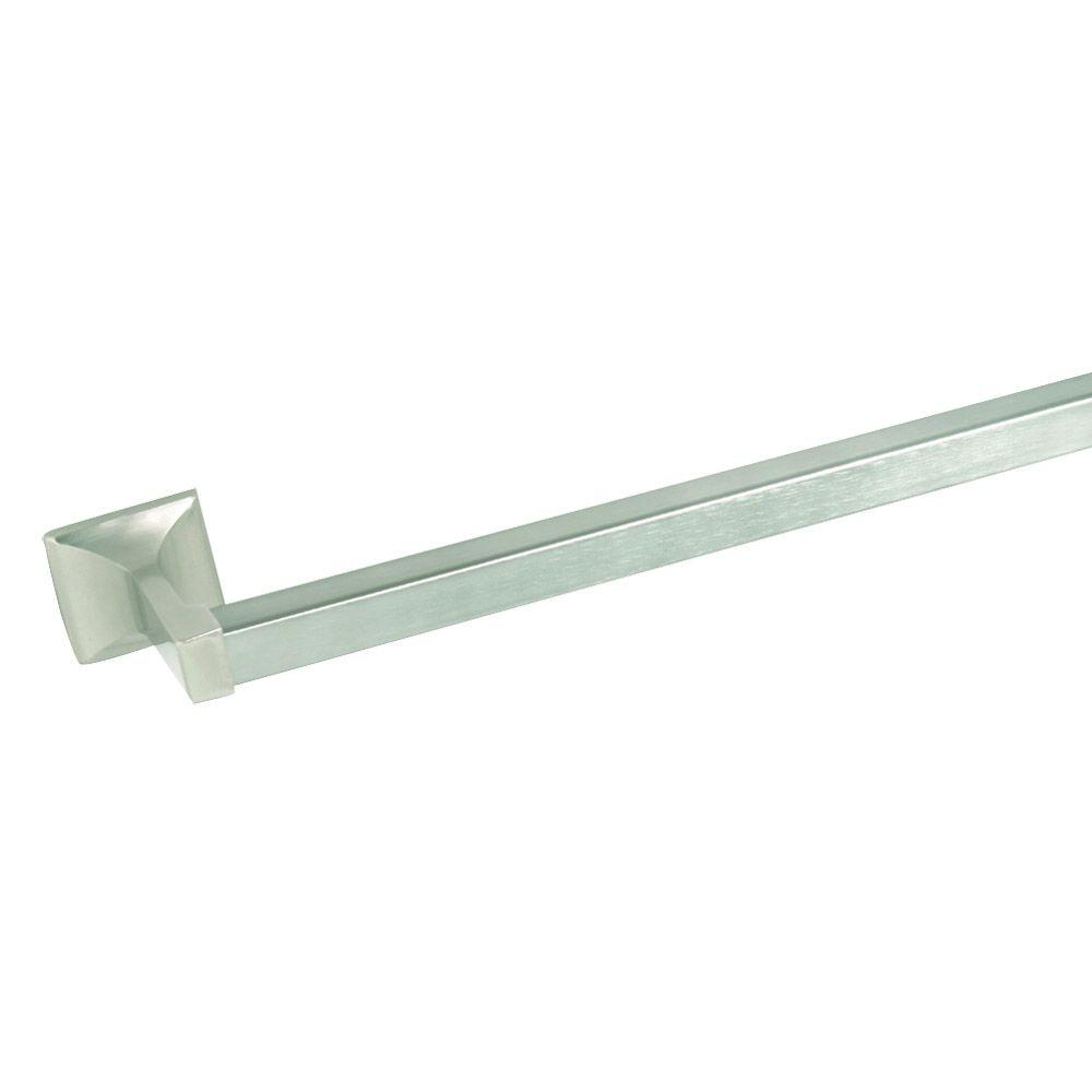 Millbridge 18 in. Towel Bar in Satin Nickel