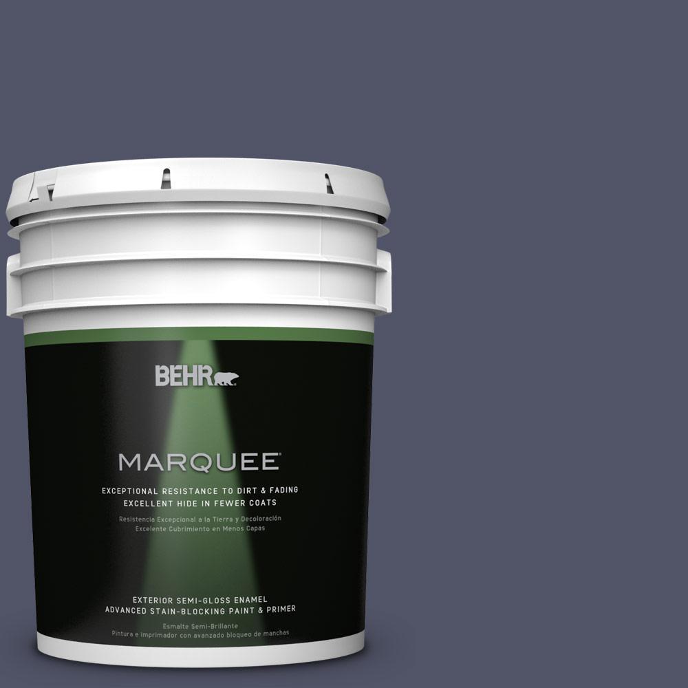 BEHR MARQUEE 5-gal. #S560-7 Lap of Luxury Semi-Gloss Enamel Exterior Paint