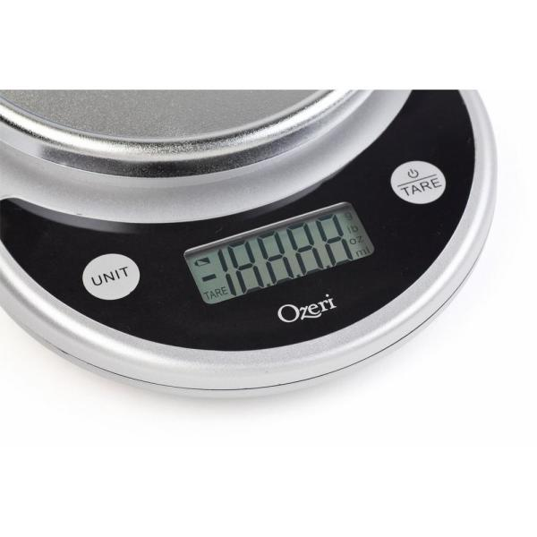 Ozeri - Pronto Digital Multifunction Kitchen and Food Scale in Elegant Black