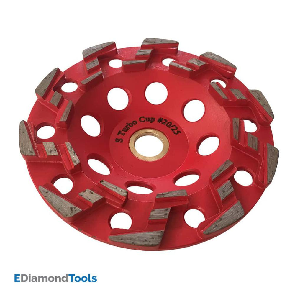 "6/"" DIAMOND CUP WHEEL FOR COATING REMOVAL EPOXY GLUES"