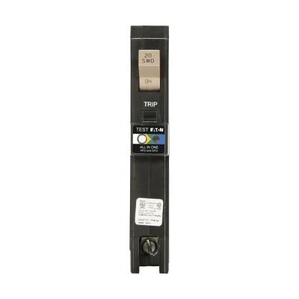 CH 20 Amp All in One AF/GF Plug-On-Neutral Breaker