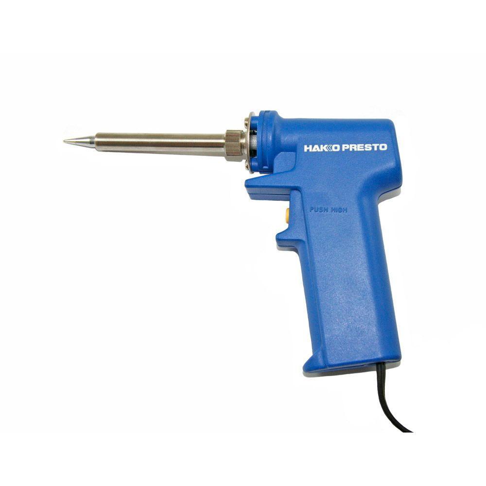 hakko 20 watt to 130 watt presto soldering iron gun type 981 v12 p the home depot. Black Bedroom Furniture Sets. Home Design Ideas