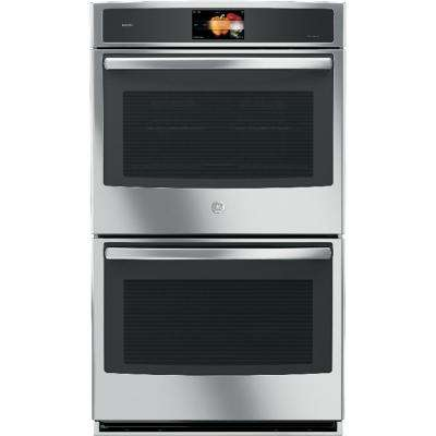 Profile 30 in. Built-In Double Electric Wall Oven with Convection in Stainless Steel