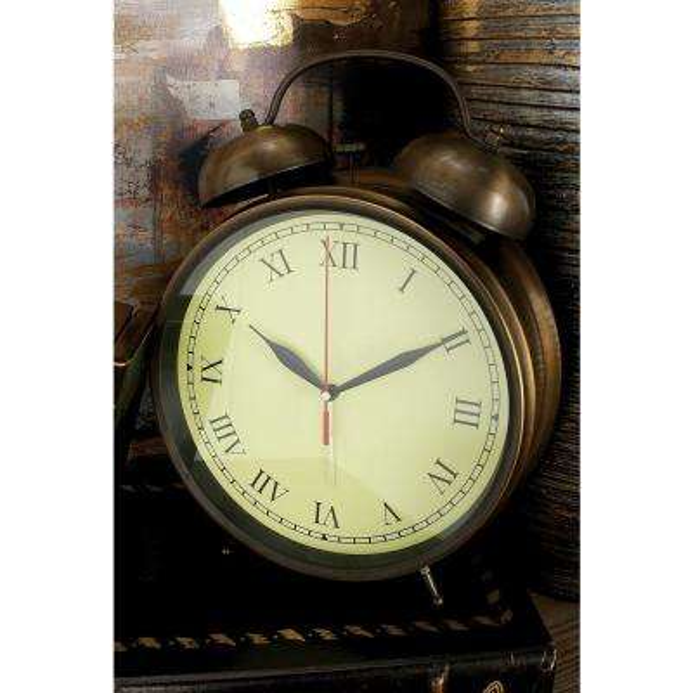 Brass Vintage Alarm Clock