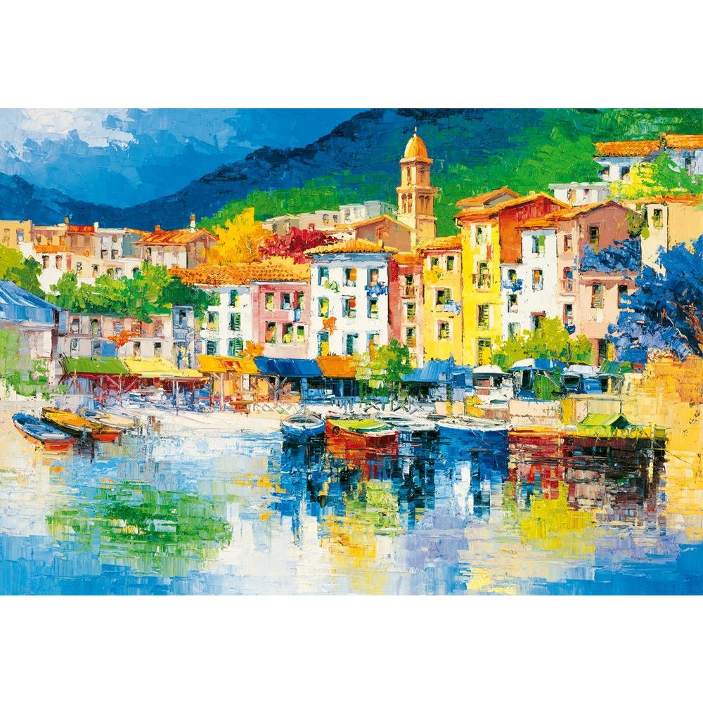 Ideal Decor 100 in. x 144 in. Riviera Ligure Wall Mural
