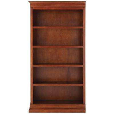 Louis Philippe Modular Left Sequoia Open Bookcase