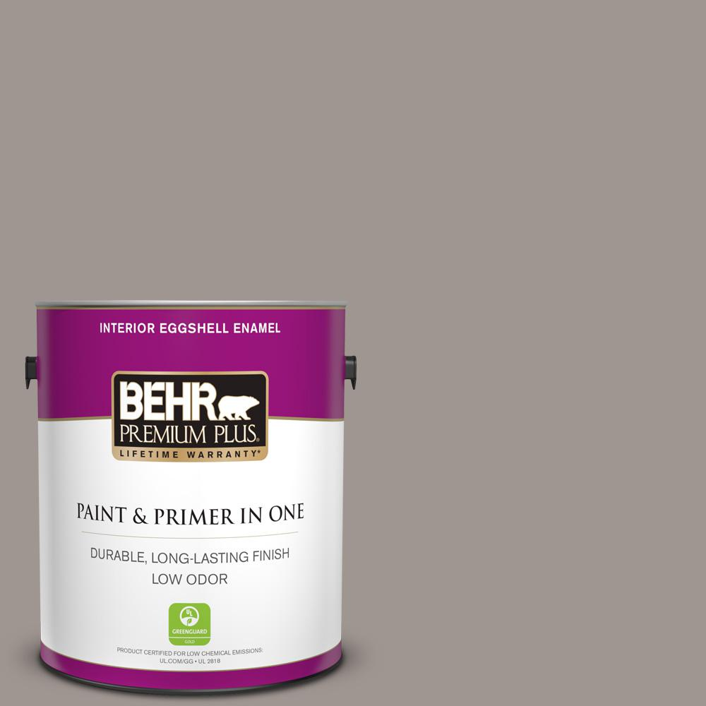 1 gal. #790B-4 Puddle Eggshell Enamel Low Odor Interior Paint and