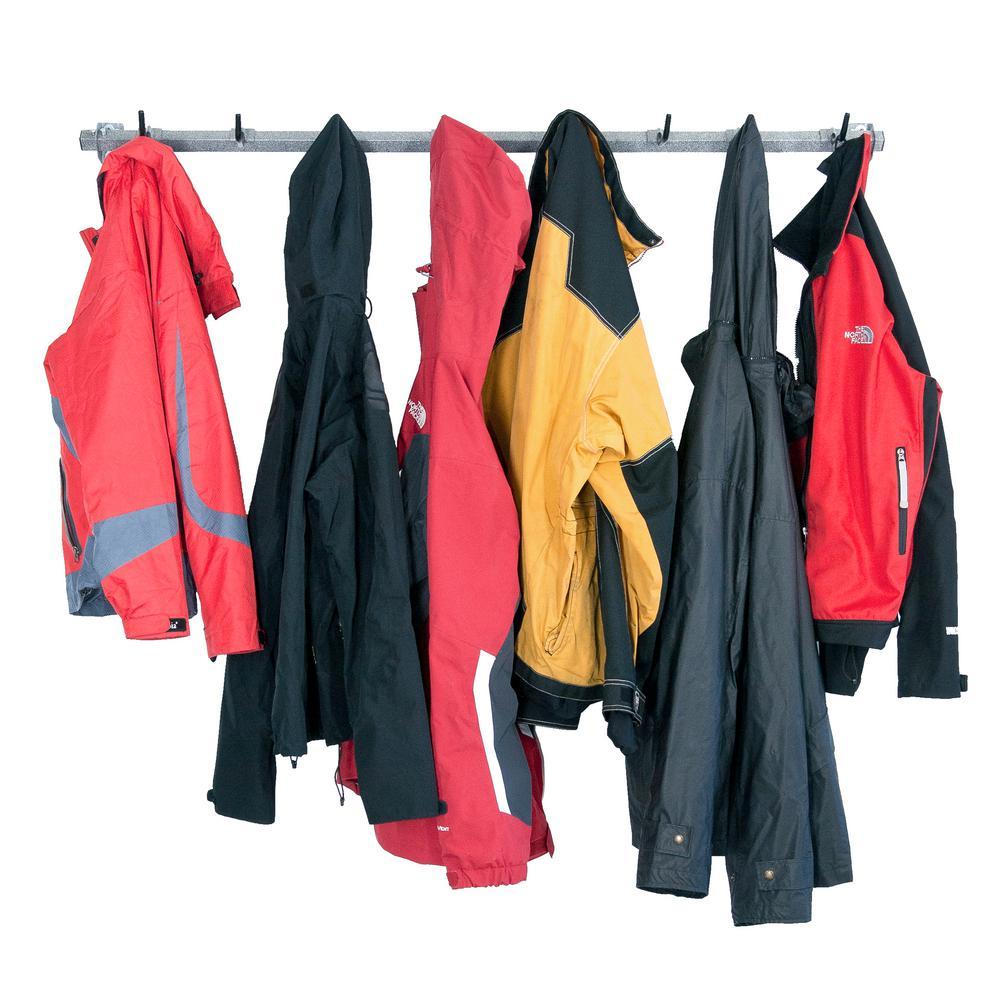 8-Garage Coat Rack
