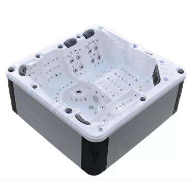 Hurricane 7 Person 164 Jet Spa With Led Lights Bluetooth And Wi