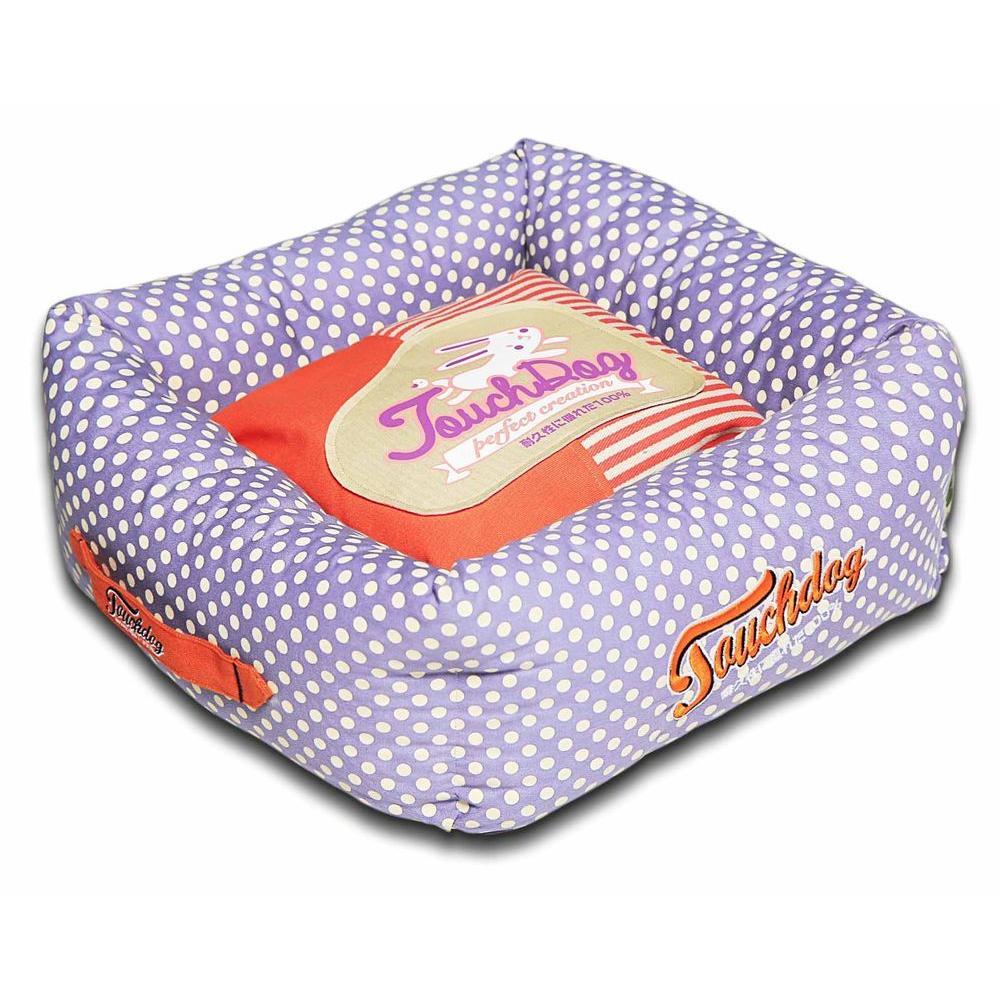 Medium Orange and Lavender Bed
