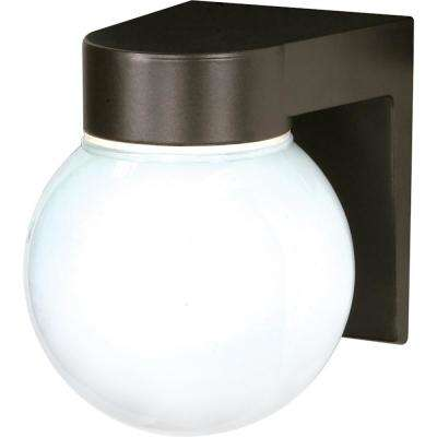 Tony 1-Light Bronzotic Outdoor Wall Mount Sconce